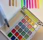 Preview: Sakura Koi Aquarell Pocket Field mit 24 Neon und Metallicfarben - Kopie