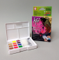 Preview: Sakura Koi Aquarell Pocket Field mit 12 Neon und Metallicfarben