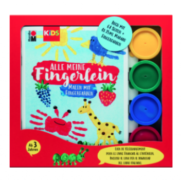 "Marabu KiDS Fingerfarbe ""Fingermal"" Set"