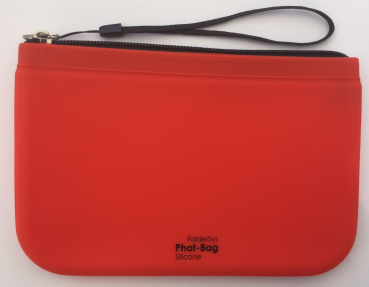 "Outdoorstiftemappe ""Phat-Bag"" A6 orange/rot"