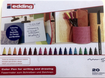 Set: Edding Color pen for writing and drawing