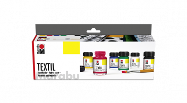 Marabu Textil Starter-Set (6 x 15 ml)
